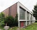 2013-08-30 Bertolt-Brecht-Gesamtschule, Schlesienstraße 21-23, Turnhalle, Blickrichtung Südwest, Bonn-Tannenbusch IMG 0670.jpg