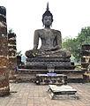 201312131422a HL ps Sukothai, Wat Mahathat.jpg