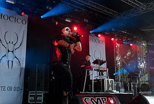 Hocico - Hocico at Amphi Festival 2014 in Cologne, Germany