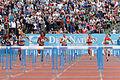 2014 DécaNation - 100 m hurdles 01.jpg
