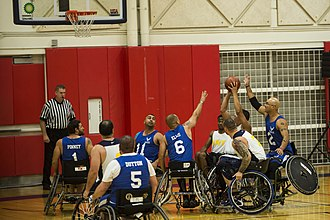 Warrior Games - Wheelchair basketball at the 2014 games