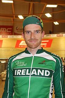 Martyn Irvine Irish racing cyclist