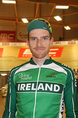 Martyn Irvine - Irvine at the 2015 UEC European Track Championships