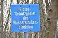 2016-02-27 GuentherZ (77) Zwentendorf Tafel Biotop-Schutzgebiet.JPG