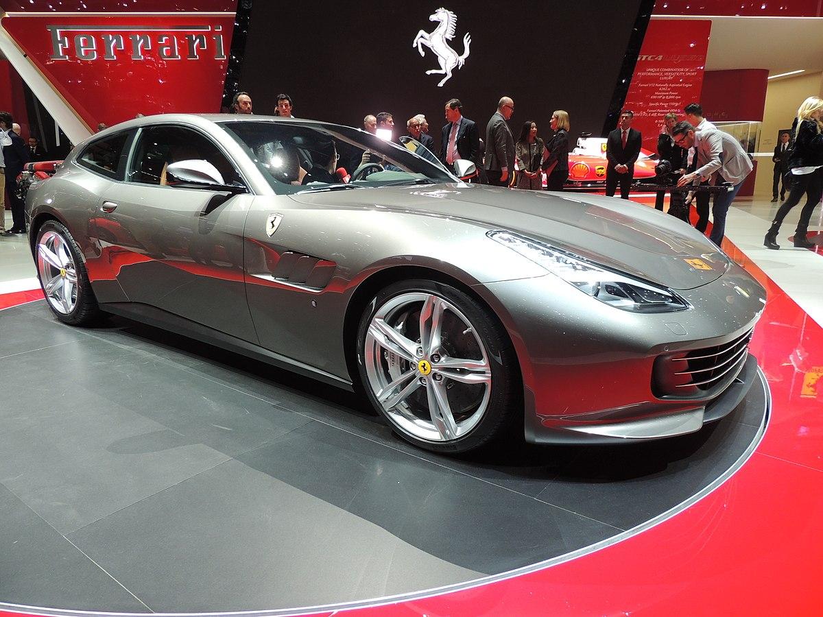 2 Door Cars 2018 >> Ferrari GTC4Lusso - Wikipedia