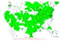 2016-04-11 24-hr Precipitation Map NOAA.png