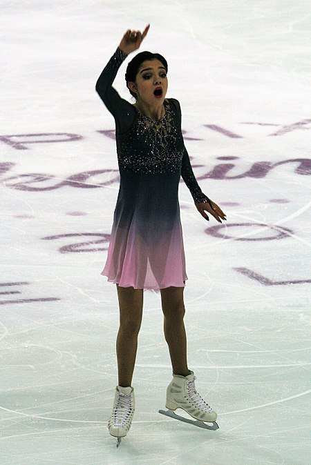 2016 Grand Prix of Figure Skating Final Evgenia Medvedeva IMG 3977.jpg