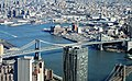 2016 One World Observatory view of Manhattan Bridge.jpg