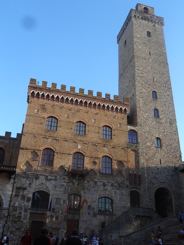 San Gimignano   Palazzo Comunale e Torre Grossa, Piazza Duomo