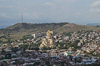 2016 Tbilisi, Widoki z Twierdzy Narikala (16).jpg
