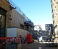 2016 Woolwich, Royal Arsenal Riverside, Crossrail construction site 02.jpg