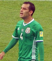 Marquez Playing For Mexico At The  Fifa Confederations Cup