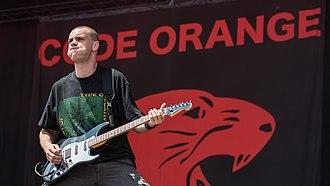 Code Orange (band) - Dominic Landolina in 2017