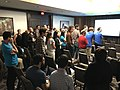 2017 Wikimedia Movement Strategy at Wikimania - participation in session 02-03.jpg