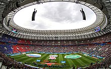 9283d0d79 Russia received widespread praise as World Cup hosts. Facilities—such as  the refurbished Luzhniki Stadium (pictured)—were one aspect of Russia's  success.