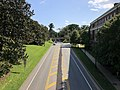 2019-08-08 16 27 45 View south along U.S. Route 29 Business (Emmet Street) from the pedestrian overpass just north of McCormick Road within the University of Virginia in Albemarle County, Virginia.jpg