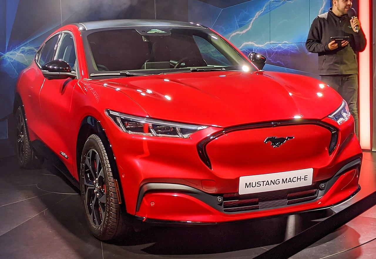 2020 Mustang Mach Interior