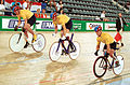 211000 - Cycling track Matthew Gray Greg Ball Paul Lake action - 3b - 2000 Sydney race photo.jpg