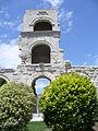 2259.Das römische Theater-zu Zeiten des röm.Kaisers Augustus errichtet.Montag 2.Juli 2007.JPG