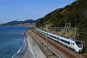Kuroshio (train) - A 289 series EMU on a Kuroshio service in February 2016