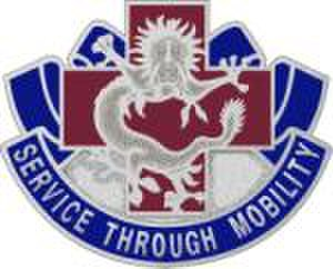 28th Combat Support Hospital (United States) - Distinctive unit insignia