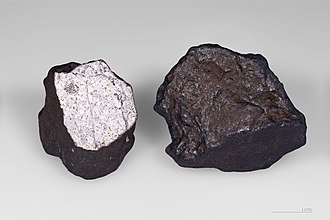 Chelyabinsk meteorite - Fragments of the meteorite that were first discovered at Lake Chebarkul.