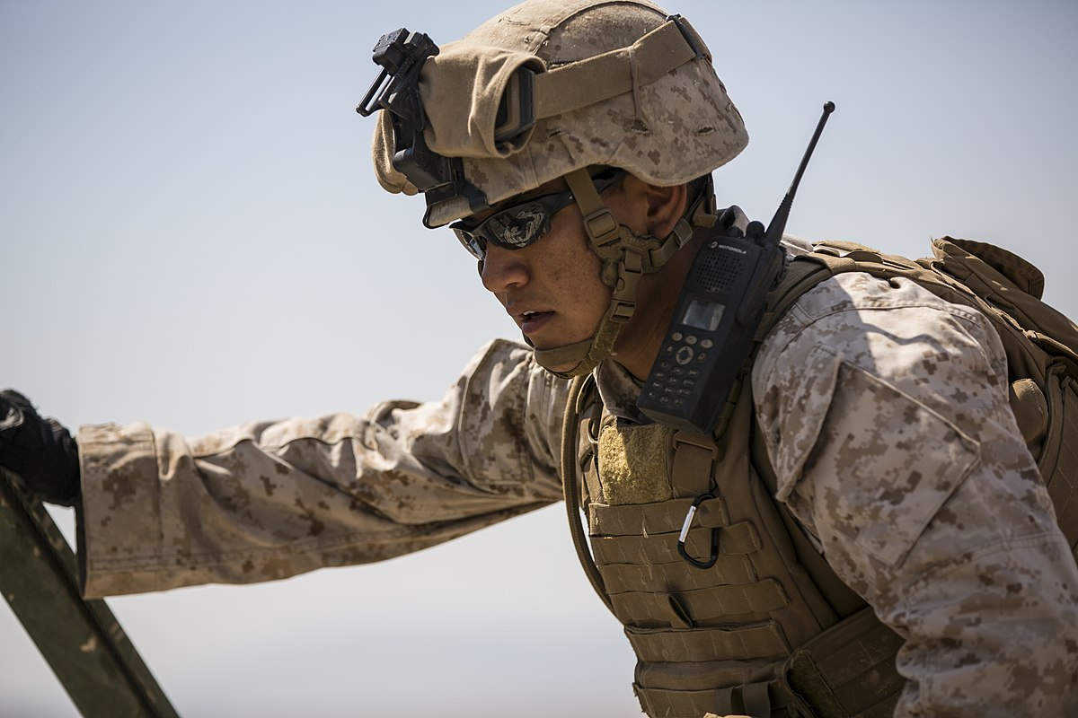 U.S. Marine • Combat Engineers • Fire Anti-Personnel Obstacle Breaching System