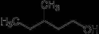 3-Methyl-1-pentanol - Image: 3 methyl 1 pentanol