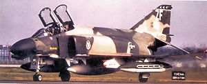 306th Tactical Fighter Squadron - Image: 306th Tactical Training Squadron Mc Donnell F 4D 27 MC Phantom 65 0621