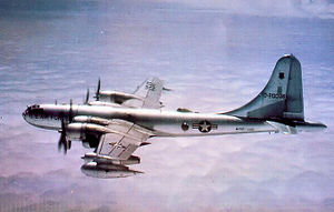 421st Air Refueling Squadron - 421st Air Refueling Squadron Boeing KB-50J Superfortress 48-0088 in 1960.