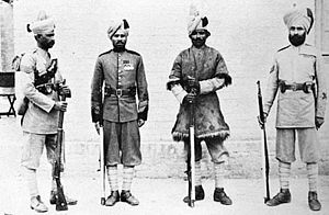 51st Sikhs (Frontier Force) - Image: 51st Sikhs (3 FF) 1905
