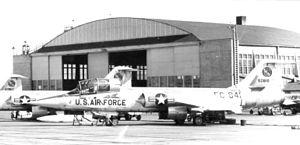 4721st Air Defense Group - 538th Fighter-Interceptor Squadron Lockheed F-104A-25-LO Starfighter 56-841 Larson Air Force Base, Washington, 1958