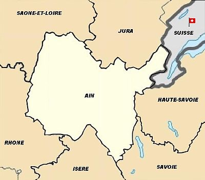 Location map France Ain