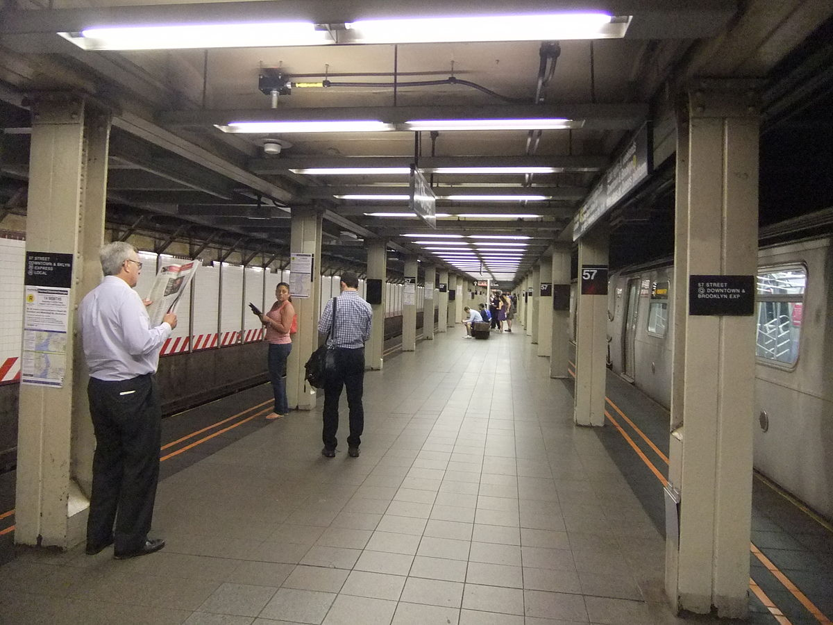 57th Street Seventh Avenue BMT Broadway Line