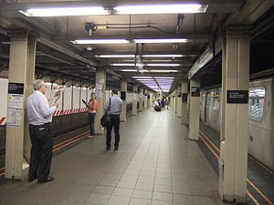 57th Street–Seventh Avenue (BMT Broadway Line) - Downtown island platform