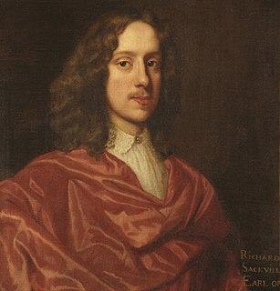 Richard Sackville, 5th Earl of Dorset English politician