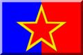 600px Blu e Rosso con stella Rossa.png