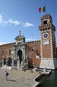 6048 - Venezia - Arsenale - Alessandro Tremignon (+ dopo 1711) - Ingresso di terra (1692-1694) - Foto Giovanni Dall'Orto - 3-Aug-2007.jpg