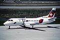 61bc - Crossair Saab 340B; HB-AKB@ZRH;25.06.1999 (5257308836).jpg