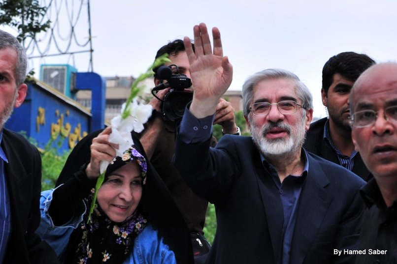 6th Day - Mousavi n His wife
