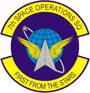 7th Space Operations Squadron - 7th Space Operations Squadron emblem