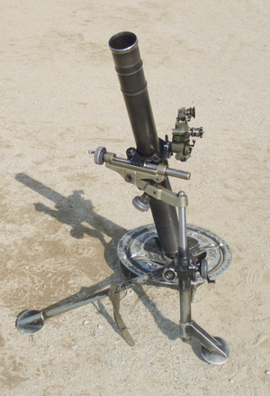 L16 81mm mortar - 81mm mortar L16
