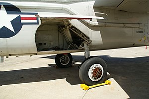 A-3 Skywarrior (144867)- detail rear starboard landing gear.jpg