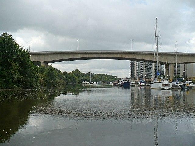 A4055 Bridge over the River Ely, Cogan Link