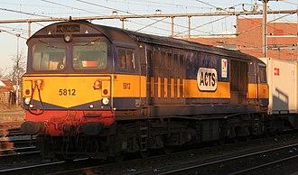 British Rail Class 58 - Image: ACTS 5812