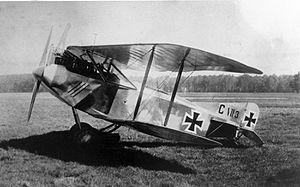 AEG C.VII - Image: AEG C.VII 1917 2