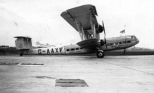 Handley Page H.P.42 - H.P.42 G-AAXF Helena at Paris–Le Bourget Airport, May 1932