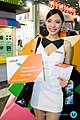 AMD promotional models at Computex 20140604b.jpg