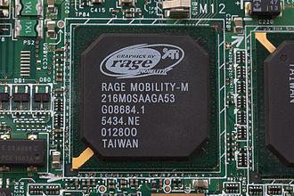ATI Rage - An ATi Rage Mobility-M from a Fujitsu Lifebook P series laptop