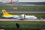 ATR-72-500 BQB Lineas Aereas (BEA) F-WWEQ - MSN 805 - Named Jean Mermoz - Will be CX-JCL (3527541999).jpg